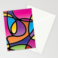 Loops Color 2 Stationery Cards