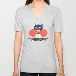 Ping Pong Panthers Unisex V-Neck