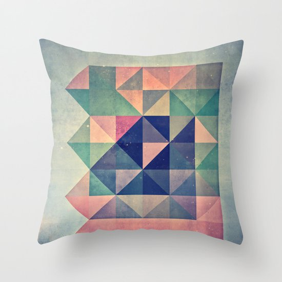chyym xryym Throw Pillow