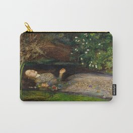 Ophelia, John Everett Millais Carry-All Pouch