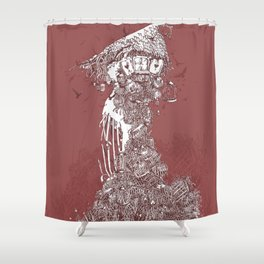 Tower of Cages Shower Curtain