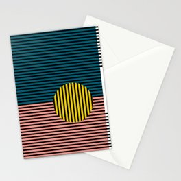 Multi lines Stationery Cards