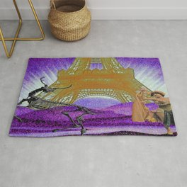 Ever dance with a skeleton? Rug
