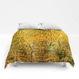 Golden Dreams Comforters