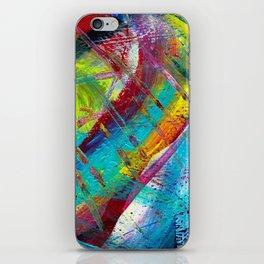 Crazy Rain iPhone Skin