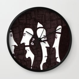 Human Relations Wall Clock