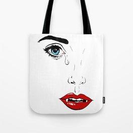Vampire Beauty Tote Bag