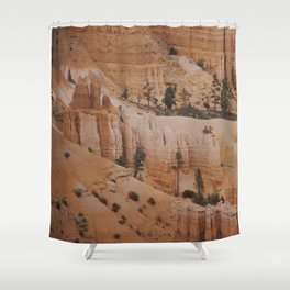 In waves Shower Curtain