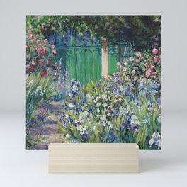 Monet's Door — Giverny, France Mini Art Print