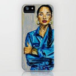 Double Denim/Sade iPhone Case