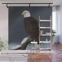 jz.birds Bald Eagle Bird Artwork Wall Mural