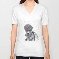ben giles V-neck T-shirts featuring Ben by Vidility