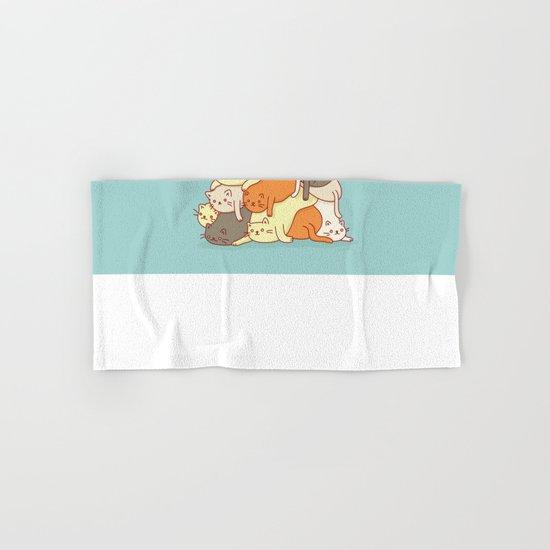 Meowtain Hand & Bath Towel