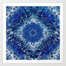 Diamond Pool Mandala Art Print