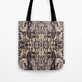 Black Int Marker Tote Bag