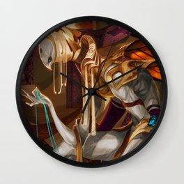 Weaver's Oddity Wall Clock