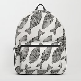 Indonesian Fish Duo – Black Palette Backpack