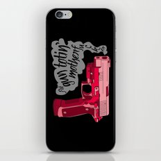 Gun Totin' iPhone & iPod Skin