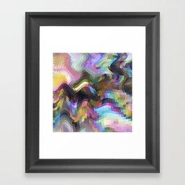 Crazy Quartz Framed Art Print