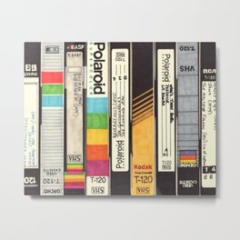 VHS Detail I Metal Print