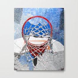 Contemporary basketball 3 Metal Print