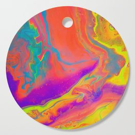 Psychedelic dream Cutting Board