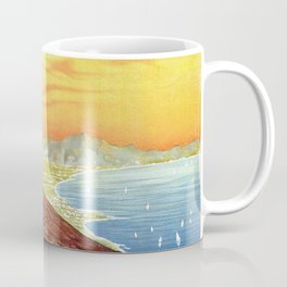 Vesuvius and the Gulf of Naples Coffee Mug