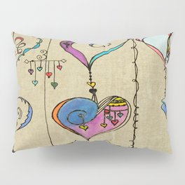 String of Hearts, Painful heart Pillow Sham