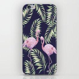Flamingos #society6 iPhone Skin