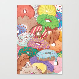 Donut You Want Me? Canvas Print