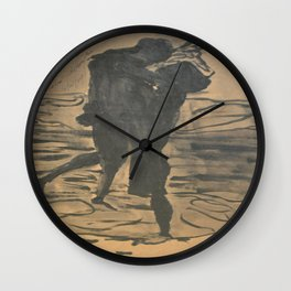Lovers Together Wall Clock
