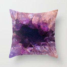 Stone Galaxy Throw Pillow