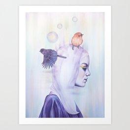 Her Fantasy Art Print