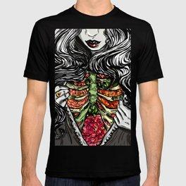 Floral Ribs T-shirt
