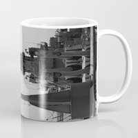 wisconsin Mugs featuring USS Wisconsin by Kelly Stiles