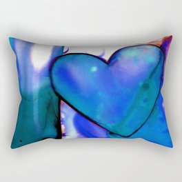 Heart Dreams 1G by Kathy Morton Stanion Rectangular Pillow