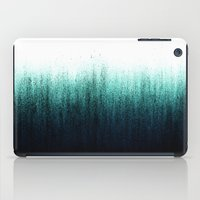 teal iPad Cases featuring Teal Ombré by Caitlin Workman
