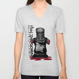 The Black Knight - Monty Python Unisex V-Neck