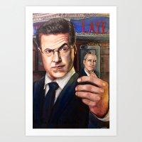 Colbert Selfie Art Print