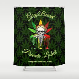 Greybeard Shower Curtain