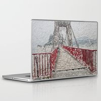 bridge Laptop & iPad Skins featuring Bridge by Mr and Mrs Quirynen