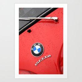 Red Isetta Art Print