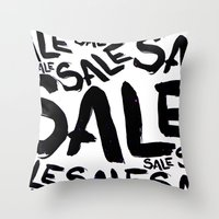 sale Throw Pillows featuring Sale by LoRo  Art & Pictures