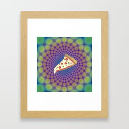 Pizza Party Betches Framed Art Print