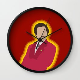 Ron Burgundy: Anchorman Wall Clock