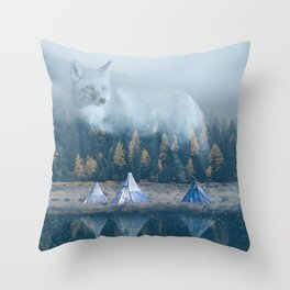 The Great Spirit Throw Pillow