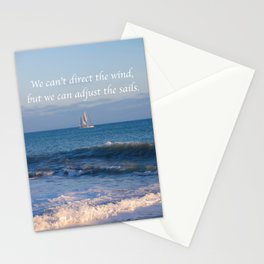 """""""We can adjust the sails."""" Stationery Cards"""