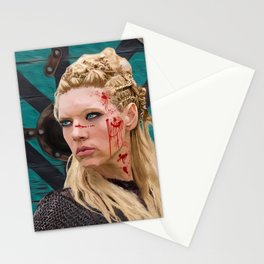Lagatha Shield Maiden Painting Stationery Cards
