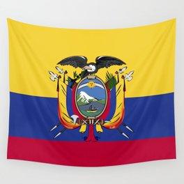 Ecuador flag emblem Wall Tapestry