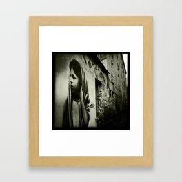 streetphotography paris Framed Art Print